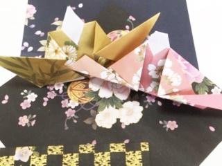ひな祭りの折り紙が簡単に折れちゃった!子供から大人まで使える
