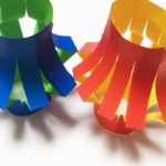 七夕飾り(提灯)を折り紙で簡単に作る方法~4作業で完成!