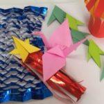 七夕におススメ!折り紙で簡単に作る笹飾りをまとめてみました